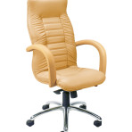 Scaun ergonomic de birou ASTRO lux chrome