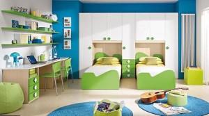camera dubla copii