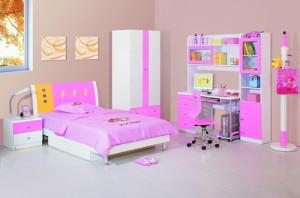 mobilier roz copii