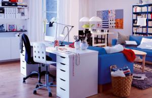 mobila birou acasa living