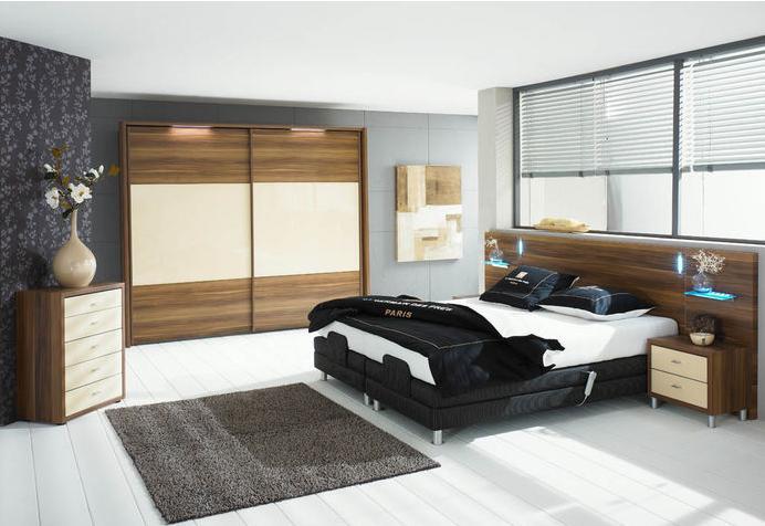 mobila dormitor natur