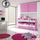 Mobila dormitor roz Hannah