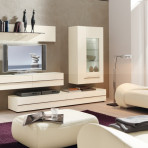 Mobilier living-sufragerie White